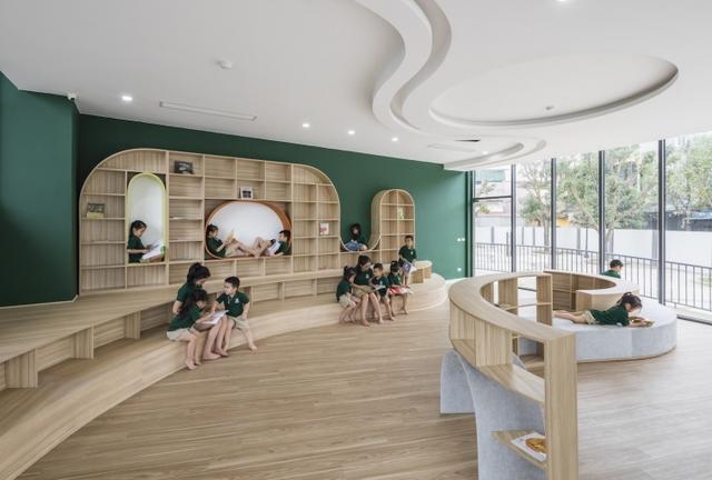 Một trường mẫu giáo tuyệt đẹp ở Vinh vừa xuất sắc thắng giải thưởng được tổ chức bởi Viện Kiến trúc sư Úc - Ảnh 4.