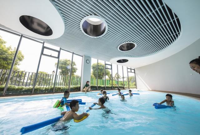 Một trường mẫu giáo tuyệt đẹp ở Vinh vừa xuất sắc thắng giải thưởng được tổ chức bởi Viện Kiến trúc sư Úc - Ảnh 7.