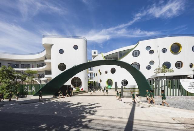 Một trường mẫu giáo tuyệt đẹp ở Vinh vừa xuất sắc thắng giải thưởng được tổ chức bởi Viện Kiến trúc sư Úc - Ảnh 1.