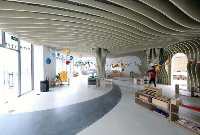 Một trường mẫu giáo tuyệt đẹp ở Vinh vừa xuất sắc thắng giải thưởng được tổ chức bởi Viện Kiến trúc sư Úc - Ảnh 6.