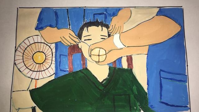 Không thể đưa con đi du lịch vì dịch Covid, gia đình mở cuộc thi vẽ tranh, tác phẩm nhận được mới bất ngờ - Ảnh 16.