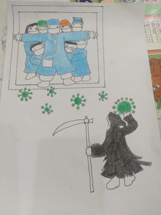 Không thể đưa con đi du lịch vì dịch Covid, gia đình mở cuộc thi vẽ tranh, tác phẩm nhận được mới bất ngờ - Ảnh 9.