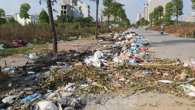 Rác ùn ứ, bốc mùi xú uế trong khu đô thị nghìn tỷ ở Thủ đô - Ảnh 3.