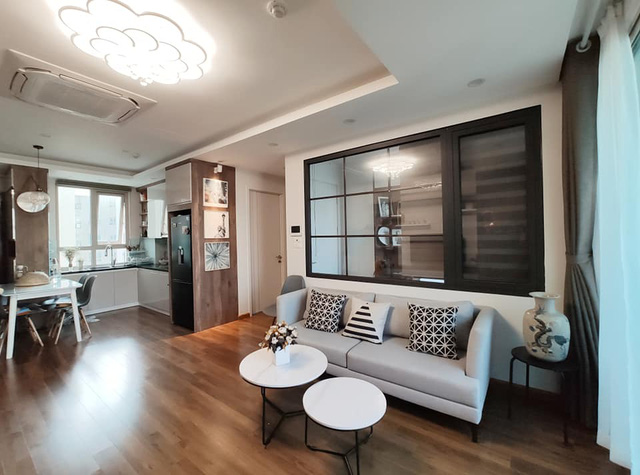 Mùa Vu Lan, vợ chồng con gái dành tâm sức hoàn thiện nội thất căn hộ 65m² với chi phí 500 triệu đồng dành tặng mẹ ở Hà Nội - Ảnh 13.