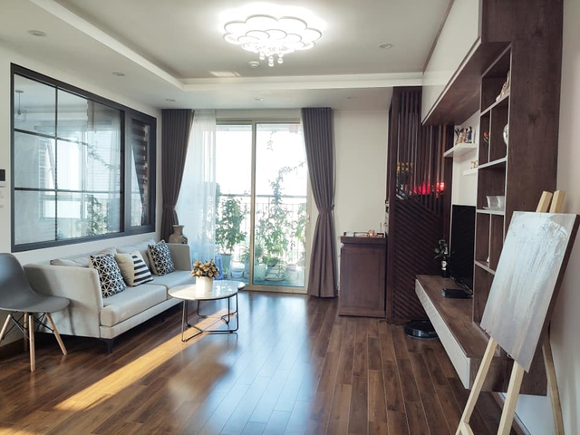 Mùa Vu Lan, vợ chồng con gái dành tâm sức hoàn thiện nội thất căn hộ 65m² với chi phí 500 triệu đồng dành tặng mẹ ở Hà Nội - Ảnh 2.