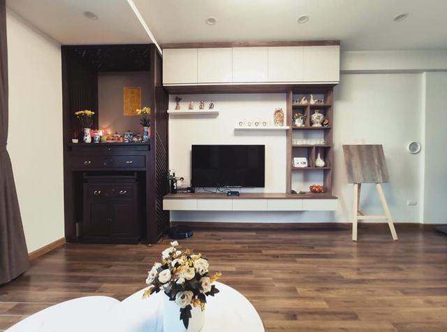 Mùa Vu Lan, vợ chồng con gái dành tâm sức hoàn thiện nội thất căn hộ 65m² với chi phí 500 triệu đồng dành tặng mẹ ở Hà Nội - Ảnh 8.