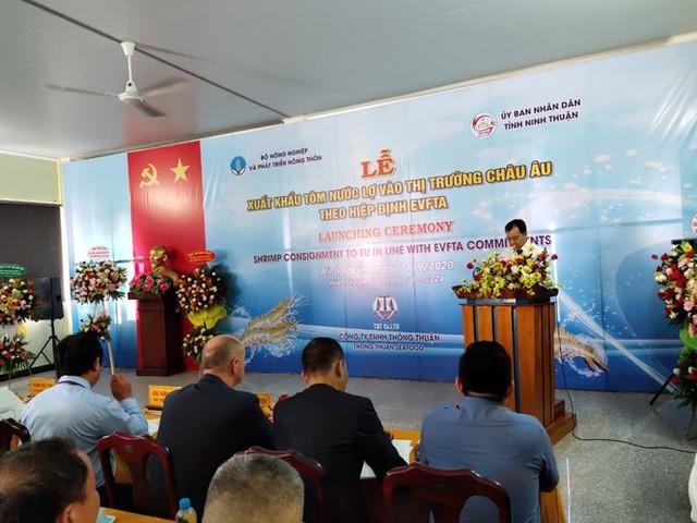Việt Nam xuất khẩu lô tôm đầu tiên sang EU hưởng thuế 0% từ EVFTA - Ảnh 1.