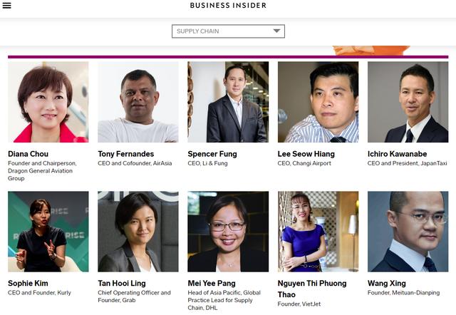 Tỷ phú Nguyễn Thị Phương Thảo được vinh danh trong top 100 nhân vật thay đổi kinh tế Châu Á - Ảnh 1.