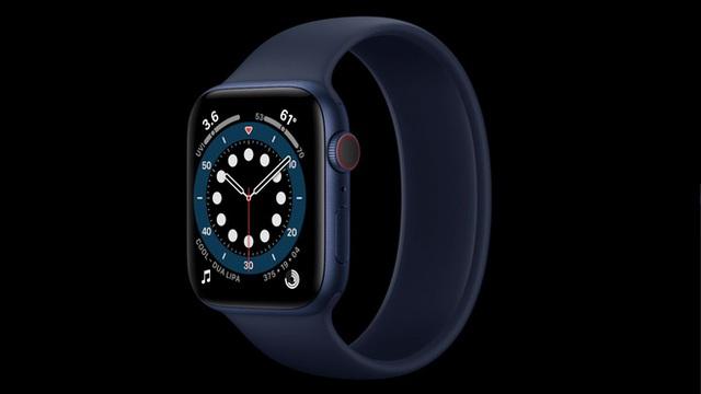 Apple Watch Series 6 ra mắt: Thiết kế không đổi, đo oxy trong máu, nhiều màu sắc và dây đeo mới, giá từ 399 USD - Ảnh 6.