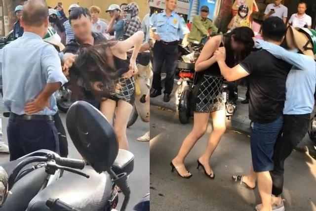 Đánh ghen trên phố có dấu hiệu vi phạm pháp luật  - Ảnh 1.
