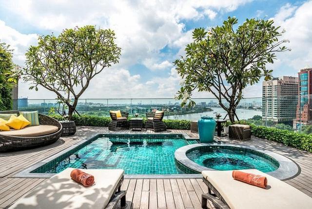Khách sạn 4 sao có hồ bơi, view ngắm cảnh đêm Sài Gòn được rao bán với giá bất ngờ - Ảnh 5.