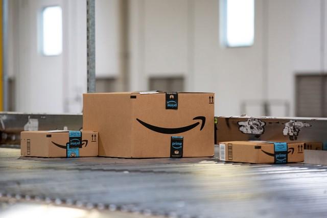 Hành động lạ của hàng loạt tài xế giao hàng Amazon: Treo smartphone lủng lẳng trên cây! - Ảnh 1.