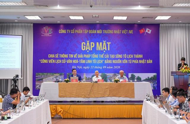 Đề xuất cải tạo sông Tô Lịch thành công viên: Là tình cảm của Nhật Bản dành cho Việt Nam, không thu phí vào cổng - Ảnh 1.
