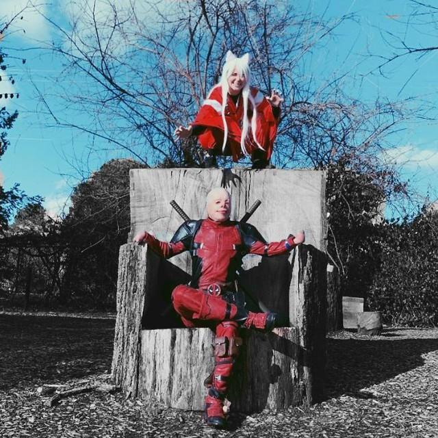 Hóa Deadpool phiên bản đời thực, chàng trai bị bỏng đến biến dạng khuôn mặt trở thành người truyền cảm hứng của MXH - Ảnh 7.