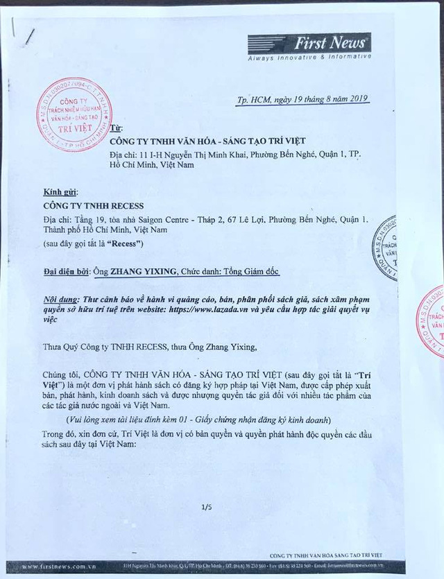 Lazada Việt Nam đang 'bị động' trong vụ kiện tụng với First News – 'Bài toán khó' cho CEO James Dong - Ảnh 2.
