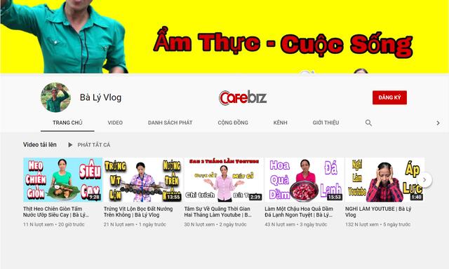 Lần đầu tâm sự áp lực làm YouTube của người nông dân, Bà Lý Vlog: Chưa có chi phí, video không được hay như người ta - Ảnh 1.