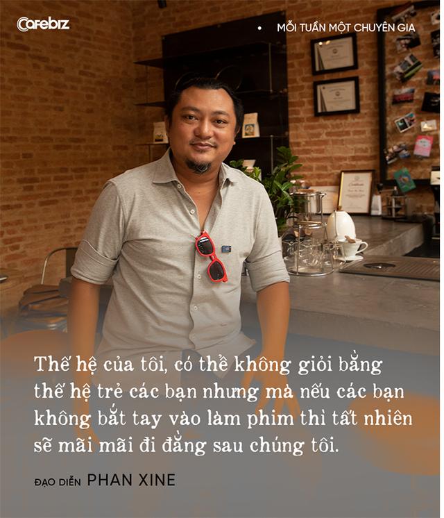 Đạo diễn trăm tỷ Phan Xine: Tạo ra một sản phẩm tốt sẽ ĐEM ĐẾN lợi nhuận, chứ không phải làm tất cả mọi thứ VÌ lợi nhuận, làm phim cũng vậy! - Ảnh 8.