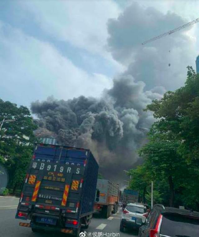 Trung Quốc: Cháy lớn tại phòng nghiên cứu của Huawei - Ảnh 1.