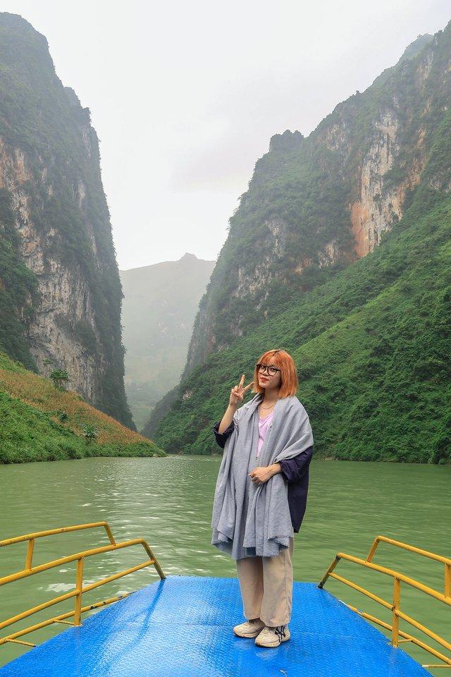 Nhật ký hành trình tới Hà Giang của cô gái yêu du lịch bụi: Làng Thiên Hương như một ngôi làng cổ tích, Du Già đẹp mê ly! - Ảnh 10.