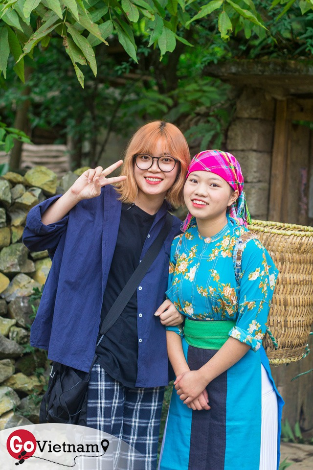 Nhật ký hành trình tới Hà Giang của cô gái yêu du lịch bụi: Làng Thiên Hương như một ngôi làng cổ tích, Du Già đẹp mê ly! - Ảnh 5.