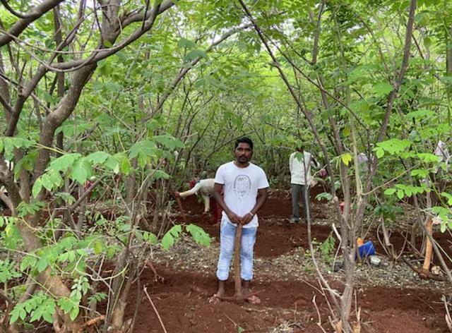 Cuộc sống nghèo đói cùng cực của hàng triệu người trẻ Ấn Độ vì Covid-19: Kỹ sư, thạc sỹ kinh doanh phải đi cuốc đất thuê kiếm sống - Ảnh 2.