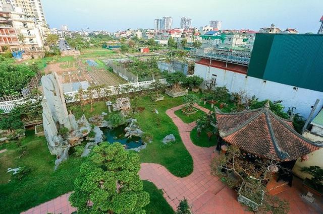 Cận cảnh khu vườn tiền tỷ của tay chơi cây cảnh nức tiếng Hà thành - Ảnh 1.