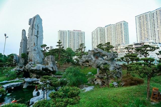 Cận cảnh khu vườn tiền tỷ của tay chơi cây cảnh nức tiếng Hà thành - Ảnh 3.