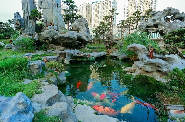 Cận cảnh khu vườn tiền tỷ của tay chơi cây cảnh nức tiếng Hà thành - Ảnh 4.