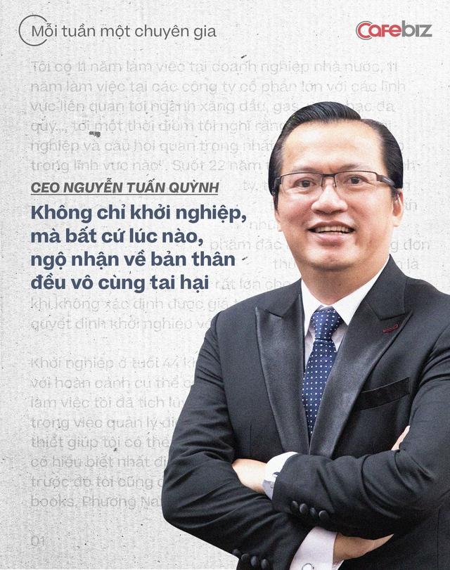 CEO Saigon Books Nguyễn Tuấn Quỳnh: Muốn thành công thì người khởi nghiệp phải có ĐỘ CHÍN nhất định - về năng lực, kiến thức, kinh nghiệm và tài chính - Ảnh 3.