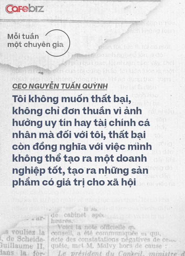 CEO Saigon Books Nguyễn Tuấn Quỳnh: Muốn thành công thì người khởi nghiệp phải có ĐỘ CHÍN nhất định - về năng lực, kiến thức, kinh nghiệm và tài chính - Ảnh 4.