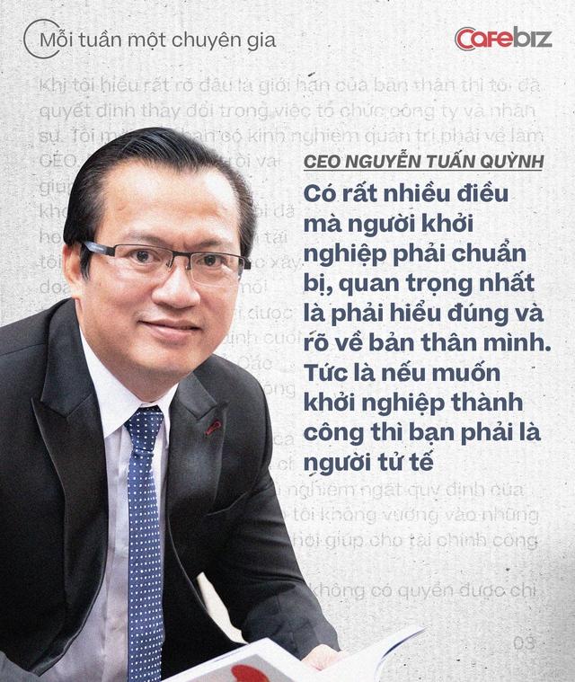 CEO Saigon Books Nguyễn Tuấn Quỳnh: Muốn thành công thì người khởi nghiệp phải có ĐỘ CHÍN nhất định - về năng lực, kiến thức, kinh nghiệm và tài chính - Ảnh 5.