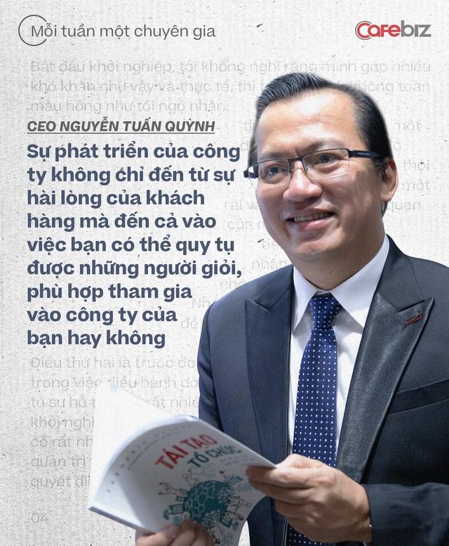 CEO Saigon Books Nguyễn Tuấn Quỳnh: Muốn thành công thì người khởi nghiệp phải có ĐỘ CHÍN nhất định - về năng lực, kiến thức, kinh nghiệm và tài chính - Ảnh 7.