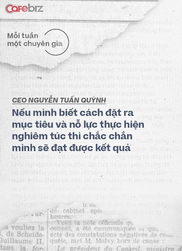 CEO Saigon Books Nguyễn Tuấn Quỳnh: Muốn thành công thì người khởi nghiệp phải có ĐỘ CHÍN nhất định - về năng lực, kiến thức, kinh nghiệm và tài chính - Ảnh 11.