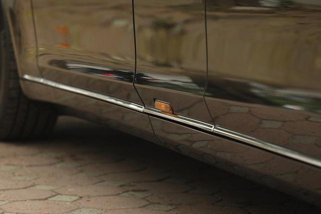 Cận cảnh chiếc xe Mẹc dành cho Tổng thống, mới có 2 đại gia Việt rinh về - Ảnh 7.