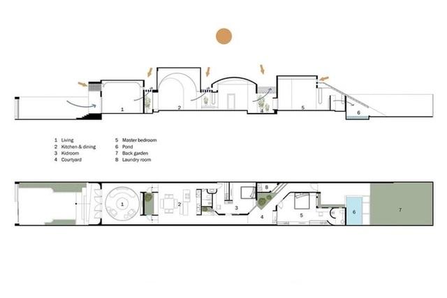 Lạ lẫm với căn nhà dài, hẹp với 3 giếng trời tại Sóc Trăng - Ảnh 30.
