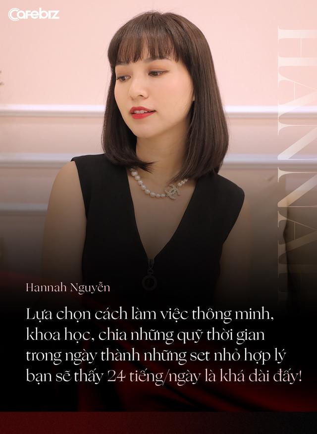 Doanh nhân, beauty blogger Hannah Nguyễn: Phụ nữ tự chủ tài chính đã thắng 90% ván bài cuộc đời, muốn vậy bắt buộc phải có nền tảng tri thức! - Ảnh 6.