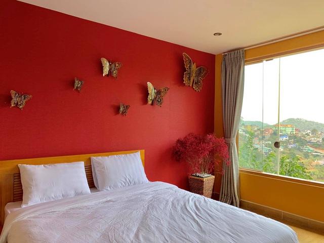 Rời Sài Gòn, cặp vợ chồng lên Đà Lạt xây ngôi nhà hướng mặt ra thung lũng, nhìn vườn hoa đào đẹp như cổ tích mà mê mệt - Ảnh 23.