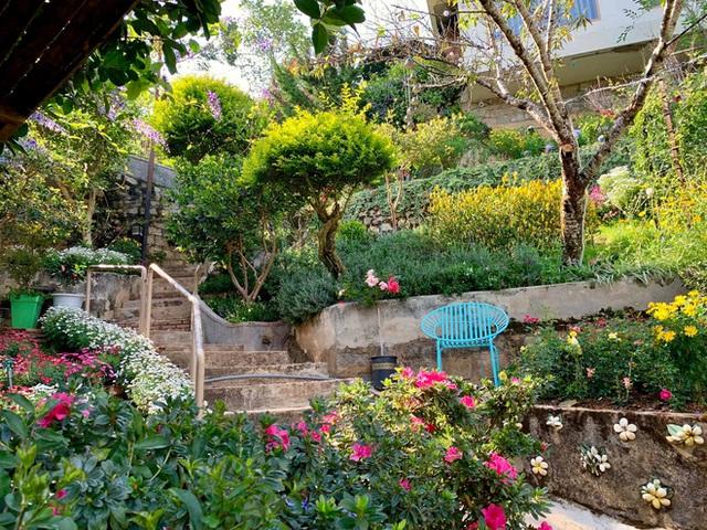 Rời Sài Gòn, cặp vợ chồng lên Đà Lạt xây ngôi nhà hướng mặt ra thung lũng, nhìn vườn hoa đào đẹp như cổ tích mà mê mệt - Ảnh 9.