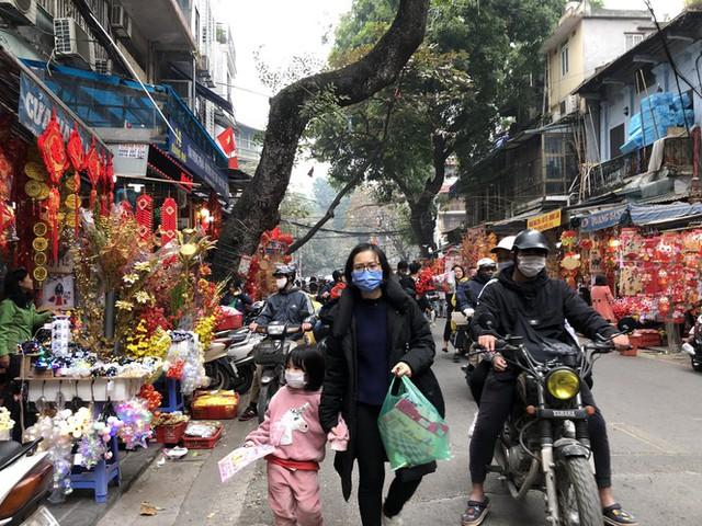 Đến hẹn lại lên, người dân chen chân ở phố Hàng Mã sắm Tết - Ảnh 13.
