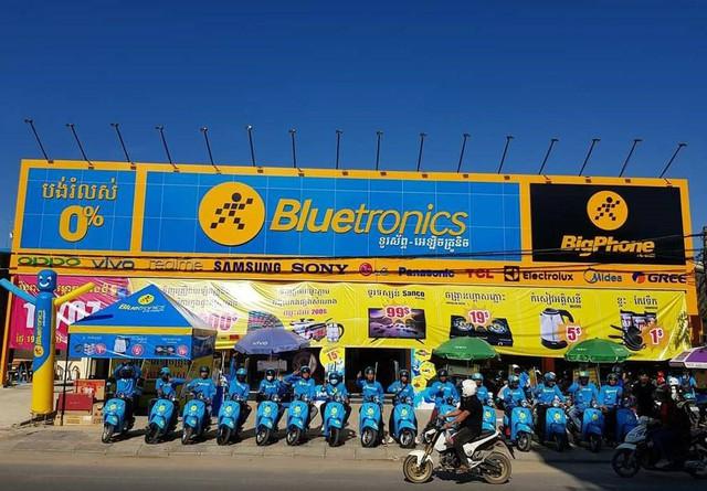 """Bluetronics của MWG nhanh như chớp"""" tại thị trường Campuchia - Ảnh 2."""