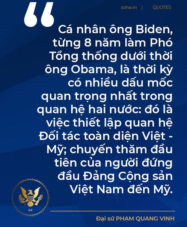 Triển vọng quan hệ Việt - Mỹ trong 4 năm tới và kỷ niệm với ông trùm châu Á trong nội các của Tổng thống Biden - Ảnh 10.