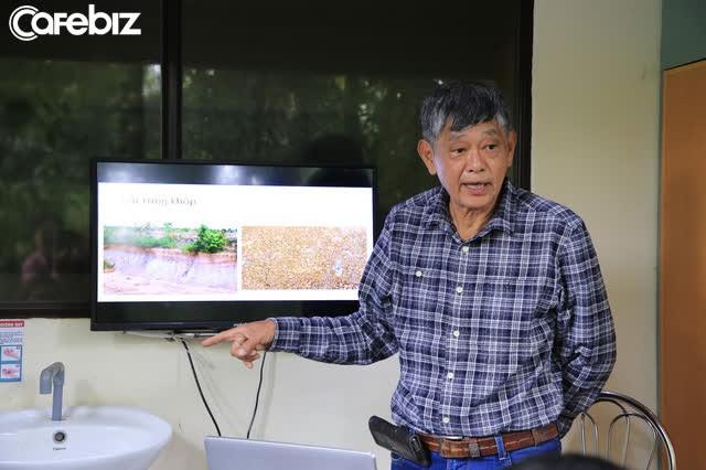 Tiến sĩ về làm nông dân: Hồi sinh đồi đá trơ trọi nhờ cỏ dại, trồng cacao không hoá chất tạo dòng socola đắt nhất Việt Nam - Ảnh 1.