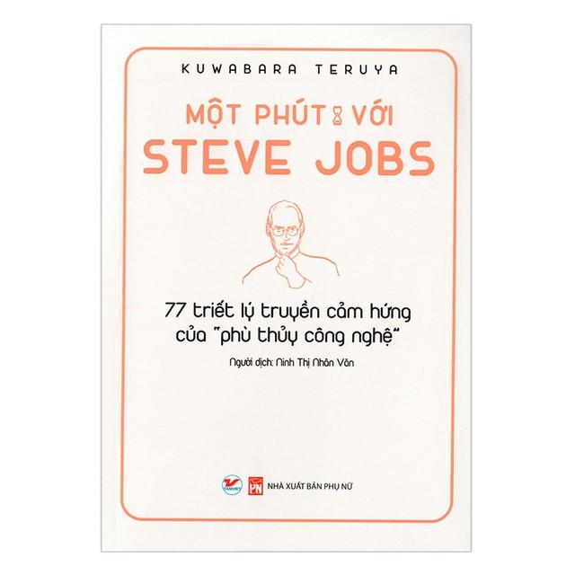 Một phút cùng những người xuất chúng: Bộ sách đúc kết những bài học, kinh nghiệm vàng từ Warren Buffet, Steve Jobs, Jeff Bezos... - Ảnh 3.