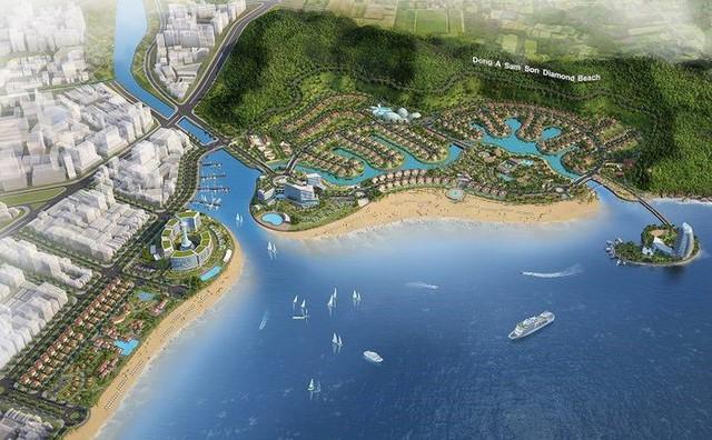 Thanh Hóa chỉ đạo khẩn tại dự án nghìn tỷ của 'bầu' Đoan ở Sầm Sơn - Ảnh 1.