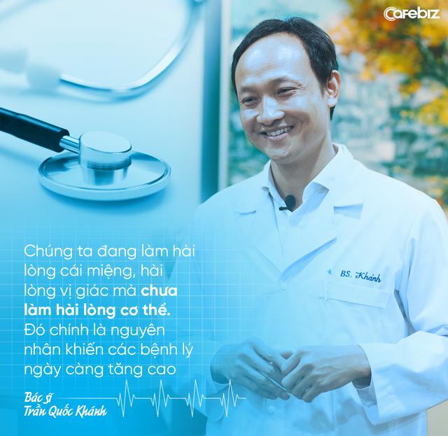 Bác sĩ Trần Quốc Khánh: Nhiều người Việt lười, thích tiết kiệm tiền nhưng không có quỹ tài chính dành cho kiểm tra sức khoẻ định kỳ - Ảnh 3.
