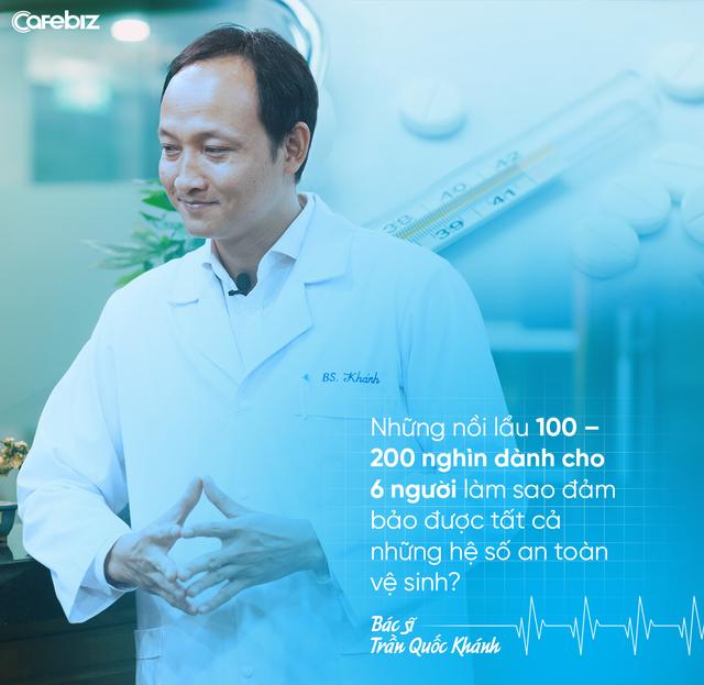 Bác sĩ Trần Quốc Khánh: Nhiều người Việt lười, thích tiết kiệm tiền nhưng không có quỹ tài chính dành cho kiểm tra sức khoẻ định kỳ - Ảnh 5.