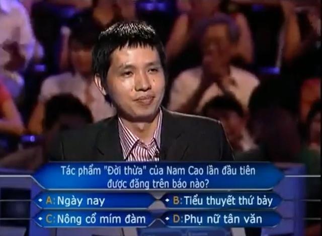 Cuộc sống của người ĐẦU TIÊN chạm tới câu hỏi số 15, phá kỉ lục Ai là triệu phú 12 năm trước bây giờ ra sao? - Ảnh 3.