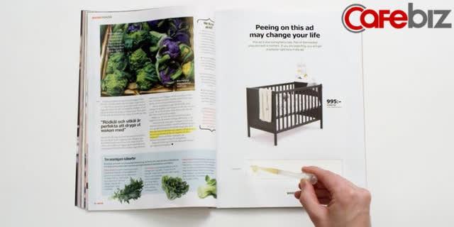 Marketing táo bạo như IKEA: Bảo khách hàng… đi tiểu lên tờ quảng cáo của mình, ai có thai sẽ được giảm ngay 50% sản phẩm cũi trẻ em - Ảnh 1.
