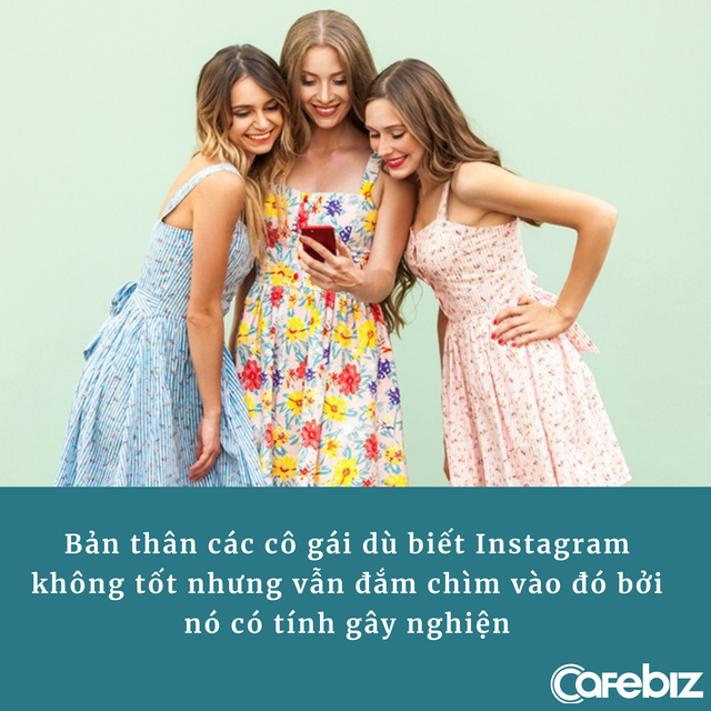 Instagram: Đế chế trăm tỷ đô kiếm tiền từ nỗi sợ của các cô gái trẻ - Ảnh 2.