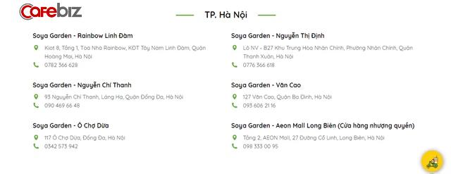 Hết giãn cách vẫn đóng băng hoạt động, cửa hàng đóng bớt: Soya Garden đang rút ô-xy tại Hà Nội? - Ảnh 3.